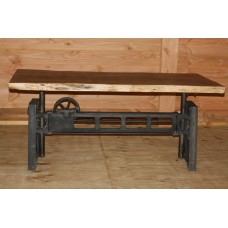 DINERTABLE IRON / WOOD MACHINERY LIVE ED