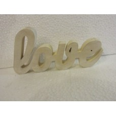 """""""Love"""" stand mid white"""