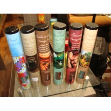 "10""incense sticks rond cafe tin"