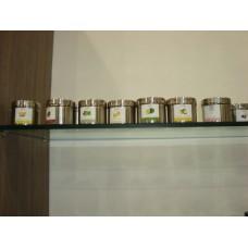 geurkaars pot+deksel coffee