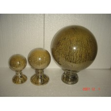 "5"" ball op voet brown ant"