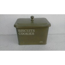 Biscuits box green