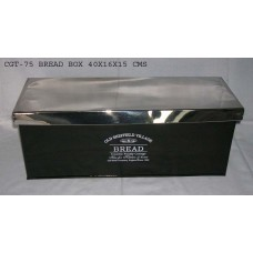 bread box+deksel black/nickel