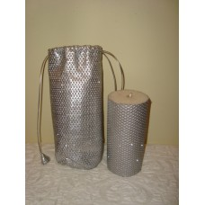 candle in bag gr silver