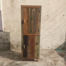 kast smal/hoog 2-deur gekleurd