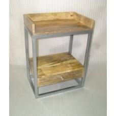 bijzetkastje tray/1la h/z