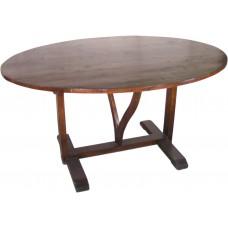 tafel ovaal klapbaar