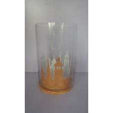 iron glass ams lantern Marble peach