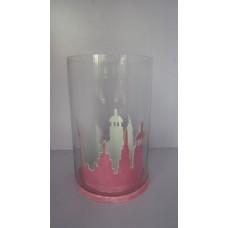 iron glass ams lantern Marble pink