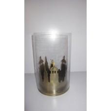 iron glass ams lantern Ant. Brass