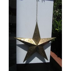 Star beaded 3-D 60 burnt copper (1x 71311 / 4x 71206)