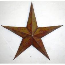Star beaded single 75 burnt copper