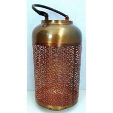 Lantaarn fijn gr copper burnt