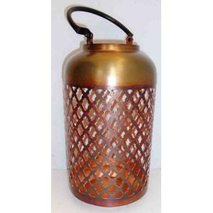 Lantaarn grof gr copper burnt