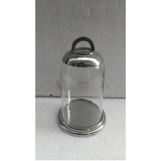 Alu Glas stolp T-light med.