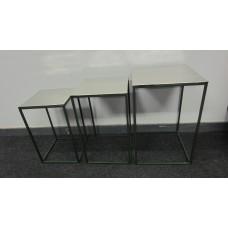 Tafel 4kant s/3 alu/green