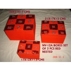 box beaden S/3 red