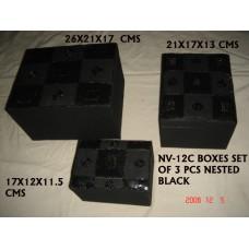 box beaden S/3 black