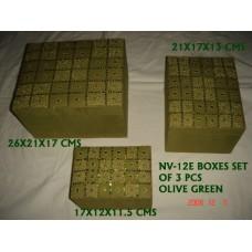 box beaden S/3 green