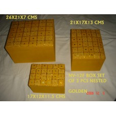 box beaden S/3 golden