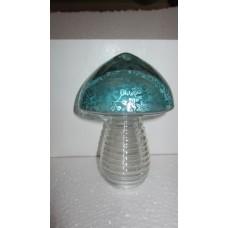 mushroom flower turq