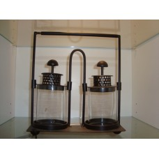 double lantern glas