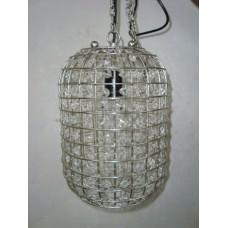 hanglamp ovaal crystal
