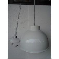 Hanglamp rond 31 cm white