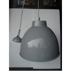 Hanglamp rond 40 cm light grey