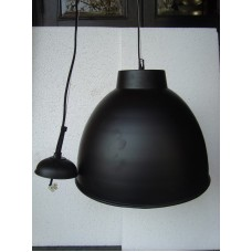 Hanglamp rond 40 cm black