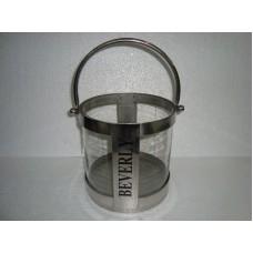 lantaarn ''beverly'' klein blank glas