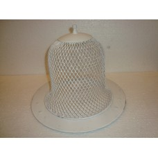cake cover w plate Big White