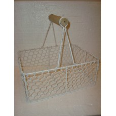 basket draad rh hv white