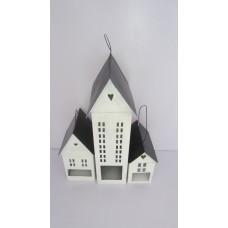 House S/3 high  black/white