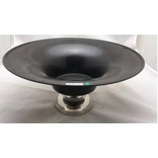 bowl op voet bl/nickel