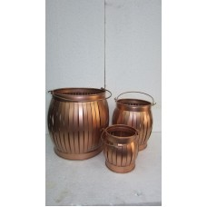 Koper lantern stripes S/3