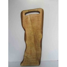 BROAD CHOPPING BOARD NATURAL CUT