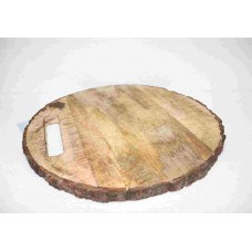 LONG CUT HANDLE ROUND CHOPPING BOARD BUCKLE