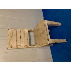 stoel gebrand