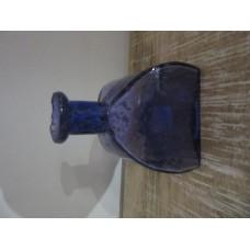 1bloem vaas 4kant kl stones blue purple