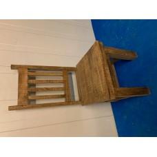 stoel plank L-brown