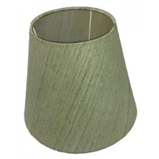 green fabric shade